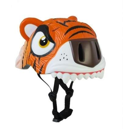 Шлем защитный детский Crazy Safety 2017 Orange Tiger оранжевый