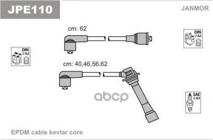 Комплект проводов зажигания JANMOR JPE110
