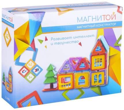 Конструктор магнитный Магнитой Дом с елочкой