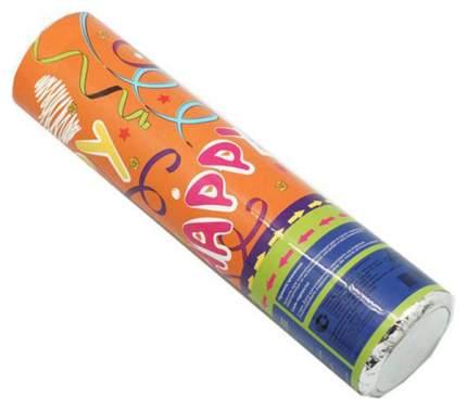 Пневмохлопушка Яркий Праздник Цветной серпантин из бумаги 16412 20 см