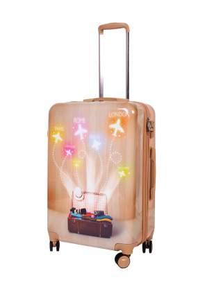 Чемодан Sun Voyage Dream Traveler оранжевый M