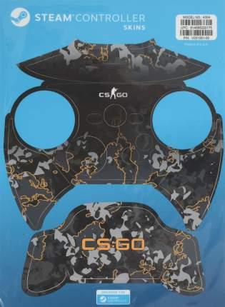 Комплект накладок CSGO Grey Camo для Steam Controller