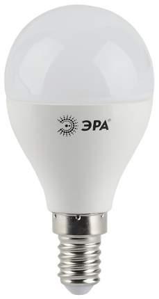 Лампочка Эра G45 E14 9W 720Lm 2700K матовый шар