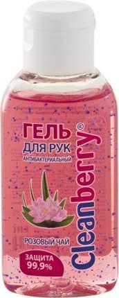 "Гель для рук антибактериальный Cleanberry ""Розовый чай"" 60 мл"