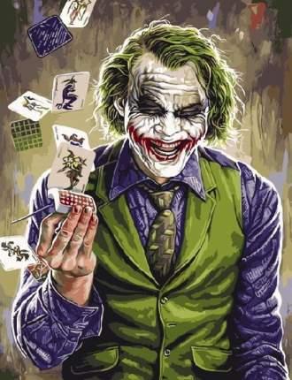 """Картина по номерам Paintboy """"Джокер"""", 40x50 см"""