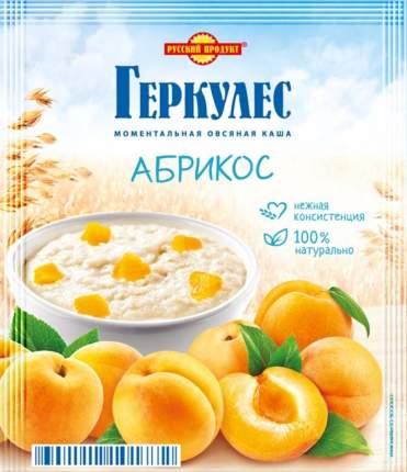 Каша овсяная моментальная Геркулес Русский продукт абрикос 35 г