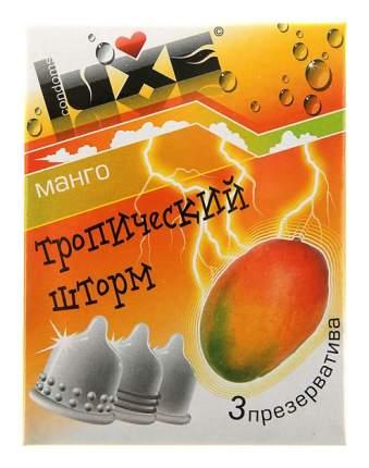 Презервативы Luxe Тропический шторм с ароматом манго 3 шт.