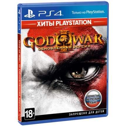 Игра God of War 3. Обновление (Хиты PS) для PlayStation 4