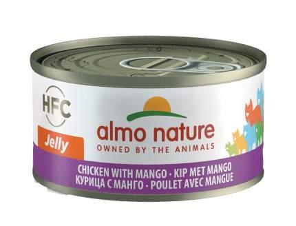 Консервы для кошек Almo Nature HFC Jelly, курица, 24шт, 70г