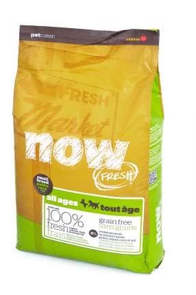 Сухой корм для собак и щенков NOW Fresh Small All Ages, индейка, утка, овощи,11,35кг