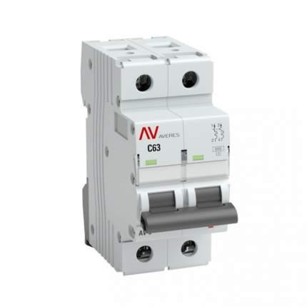 Автоматический выключатель EKF mcb6-2-01D-av