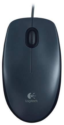 Проводная мышка Logitech M90 Grey/Black (910-001794)