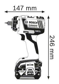 Аккумуляторная дрель-шуруповерт Bosch GSR 14,4 V-EC FC2 06019E1001