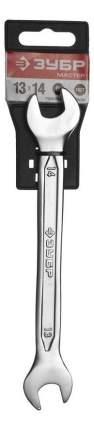 Рожковый ключ Зубр 27010-13-14