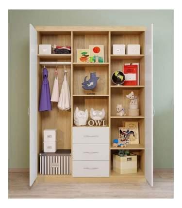 Шкаф детский Polini Classic дуб/белый глянец