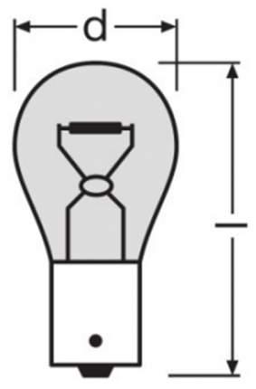 Лампа накаливания автомобильная OSRAM 21W (7507^)