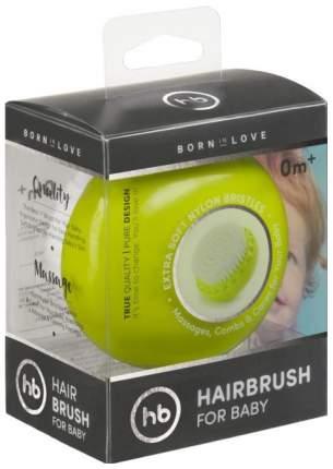 Детская расческа Happy Baby Hairbrush Lime, 17006