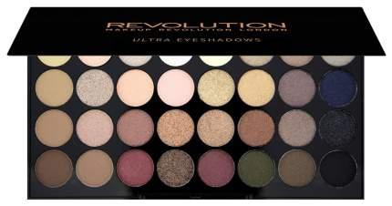 Тени для век Makeup Revolution Ultra 32 Shade Eyeshadow Palette Flawless 16 г
