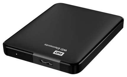 Внешний диск HDD WD Elements Portable 500 GB Black (WDBUZG5000ABK-WESN)