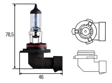 Лампа галогенная Hella 51W P22d 8GH 005 636-121