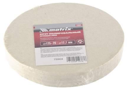 Круг полировальный для шлифмашин MATRIX 75904