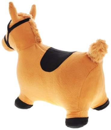 Лошадка-попрыгунчик Shantou Gepai коричневая 63800