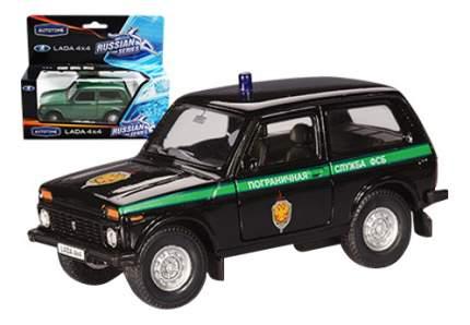 Коллекционная модель Пограничная служба фсб Lada 4х4 Autotime 33896 1:36