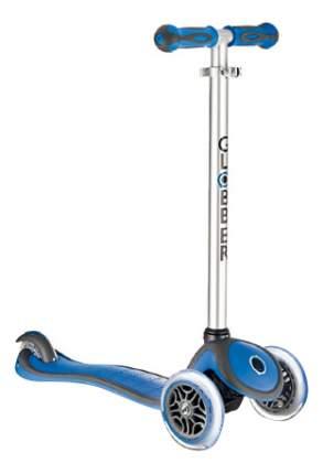 Самокат трехколесный Globber Evo 5 в 1 light blue