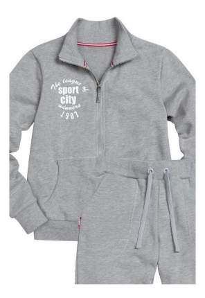 Спортивный костюм Pelican Sport City серый 128 размер
