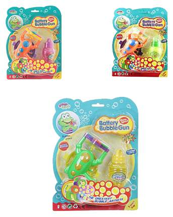 Мыльные пузыри Shenzhen toys Пистолет К33848