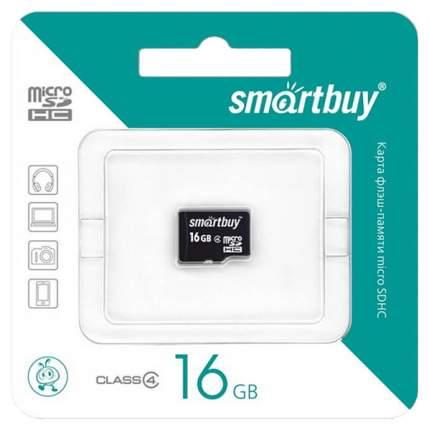 Карта памяти SmartBuy Micro SDHC SB16GBSDCL10-00 16GB