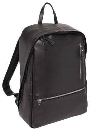 Рюкзак кожаный Lakestone Adams черный 14 л