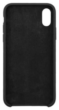 Чехол Apple InterStep Soft-T Metal iPhone X черный HST-APIP00XK-NP1101O-K100