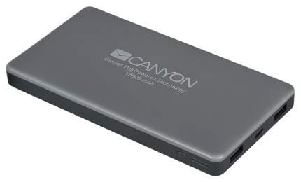 Внешний аккумулятор CANYON CNS-TPBP15DG 15000 мА/ч Grey