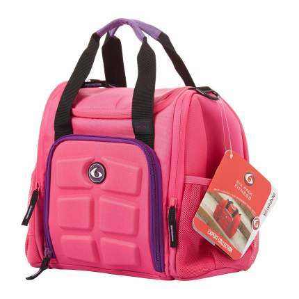 Спортивная сумка Six Pack Fitness Fitness Innovator Mini розовая/фиолетовая