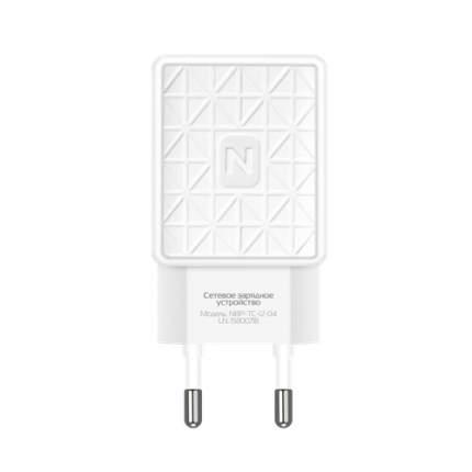 СЗУ Practic 1USB, 1.2А, кабель micro, NBP-TC-12-04, белый, Nobby