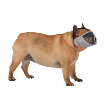 Намордник для короткомордых пород Trixie (серый), М: 45 см