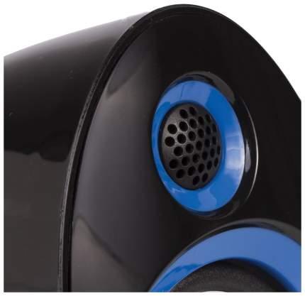 """Колонки компьютерные """"Sonnen CS-695"""", 2.0, пластик, 2x3W, питание USB, черно-синие"""