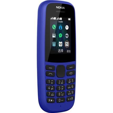 Мобильный телефон Nokia 105 (TA-1174) Blue