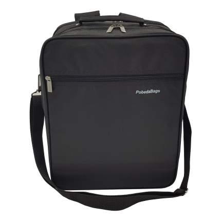 Рюкзак-трансформер для ручной клади Pobedabags 36x30x27 черный