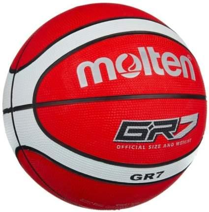 Мяч баскетбольный Molten BGR, 7, красный
