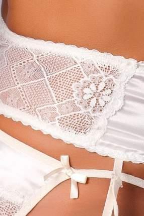 Комплект с открытой грудью Aurelia, кремовый (S-M)