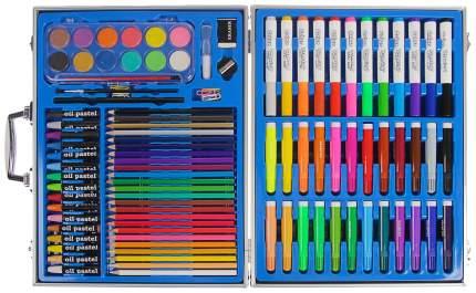 Набор для рисования в голубой коробке складной Sima-Land