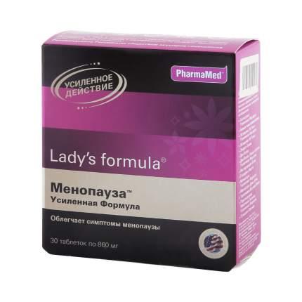 Lady's formula PharmaMed менопауза усиленная формула таблетки 30 шт.
