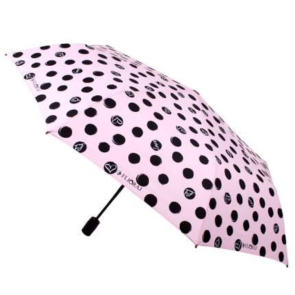 Зонт-автомат Flioraj 16054 FJ розовый