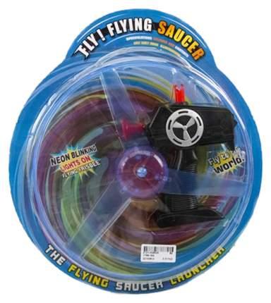 Интерактивная игрушка Gratwest Летающая вертушка flying saucer 30 см Б74536