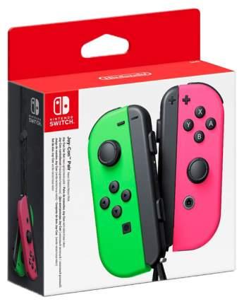 Геймпад для игровой приставки switch Nintendo Joy-Con Розовый, зеленый