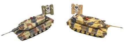 Радиоуправляемый танковый бой Huan Qi Abrams vs Abrams