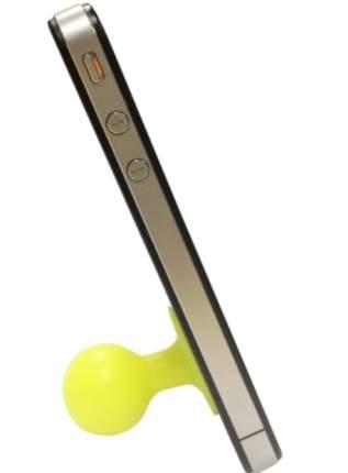 Подставка для мобильных устройств CBR FD-364, компактный вакуумный держатель, жёлтый