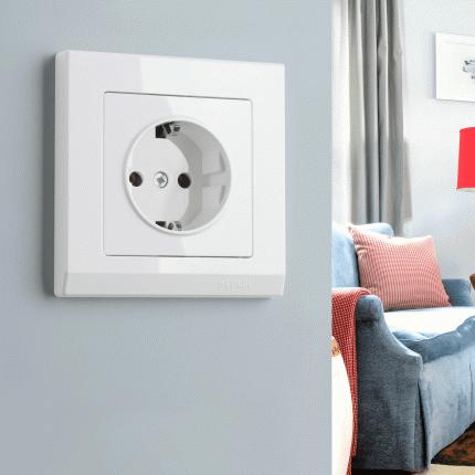 Рамка для выключателя Werkel WL04-Frame-01 a028921 белый